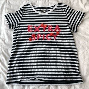 Kate Spade Extra Spicy Shirt